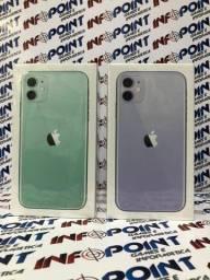 Pronta entrega iPhone 11 64GB novo lacrado- aceito usado na troca - combinamos entrega