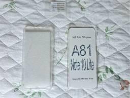 Capa dupla transparente Galaxy Note 10 Lite