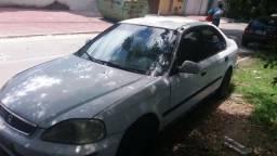 Honda Civic LX ano 2000 Aut - 2000