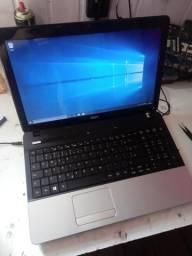 Notebook acer core i3, 6 GB de memória RAM