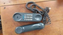 Aparelho de Telefone fixo cor: Preto fosco