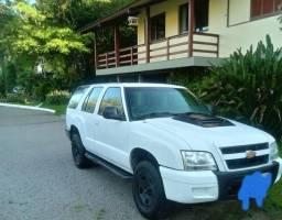Troco por menor valor + volta S10 Blazer 2009 2.4 flex camionete economica 4cilindros - 2009