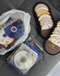 Lote com CD e DVD