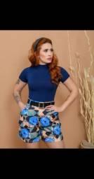 Shorts e Blusas