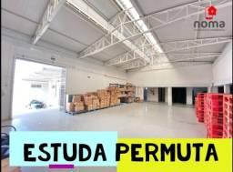 Barracão à venda com 1.900 m² de área Construído