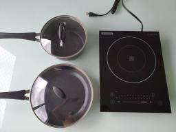 Cooktop portátil por indução TRAMONTINA