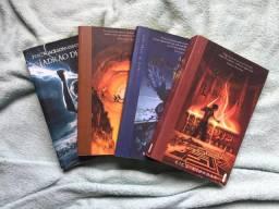 Saga Percy Jackson, quatro primeiros livros