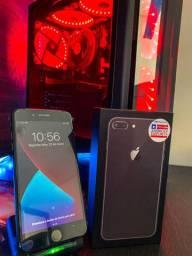 IPhone 8 Plus 64GB Jett Black Novo 10x sem Juros