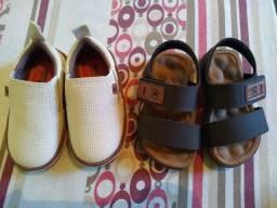 Sapatos e papete molekinho
