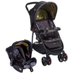 Carrinho e bebê conforto de bebê  COSCO