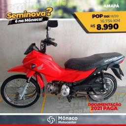 Honda POP 110i - Seminovos Mônaco