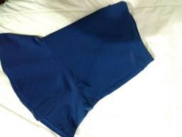 Título do anúncio: Duas saias peplum azuis G