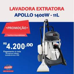 Título do anúncio: Extratora Lavadora de Carpetes e Pisos Apollo 1400w Lavor