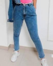 Calça jeans  n° 38 ( usada 1 vez )