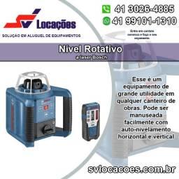 Aluguel de Nível a Laser Rotativo Bosch