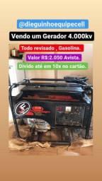 Gerador toyma gasolina 4.000 kva