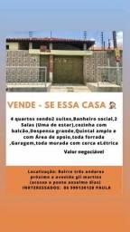 Título do anúncio: VENDE -SE ESSA CASA
