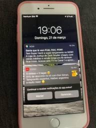 IPhone 7 Plus / Lindo / cor Gelo / 256 GB
