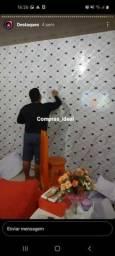Papel adesivo parede *