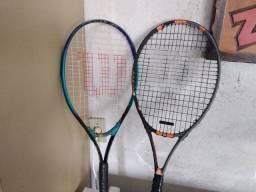 Par de raquetes de tênis profissionais