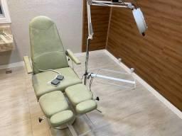 Cadeira podologia elétrica