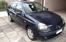 Título do anúncio: Clio Sedan 1.6 Privilege 2004 Completo
