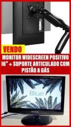 Título do anúncio: Monitor + suporte com pistão a gás