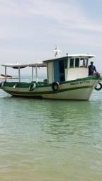 Título do anúncio: Barco de passeio e pesca a venda