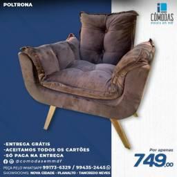 Título do anúncio: Poltronas Confort - (Entrega Grátis)