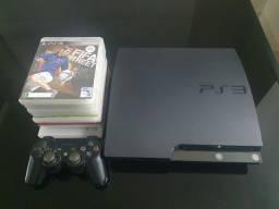 Playstation 3 Slim em ótimo estado