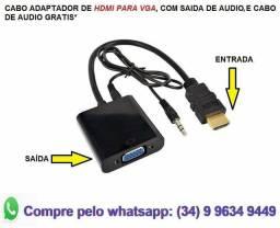 HDMI para vga conversor