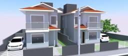 Sobrados 2 quartos em construção | Amplo terreno | Serraria em São José/SC