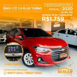 Título do anúncio: Onix Plus LTZ Turbo 2020! Novinho!