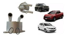 Resfriador trocador de calor do câmbio automático Jeep Renegade, Compass,Toro...