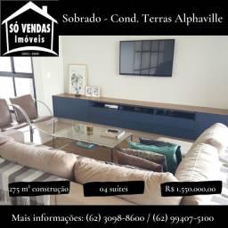 Título do anúncio: Casa de condomínio sobrado para venda possui 275 metros quadrados com 4 quartos