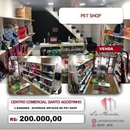 Título do anúncio: Loja em Centro Comercial, 75m², Pet shop, Ótima localização e acabamento