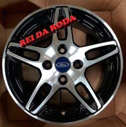 Jogo de Rodas ARO15- Modelo Ford Fiesta - Original