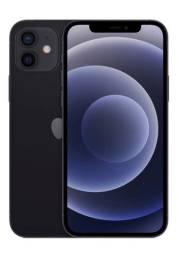 iPhone 12 Apple 64GB Preto Tela de 6,1?, Câmera Dupla de 12MP.