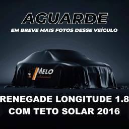 Título do anúncio: Renegade Longitude 1.8 c/ Teto Solar 2016