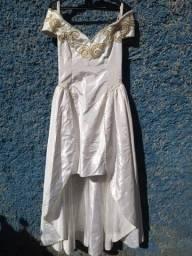 vestido noiva bordado mullet