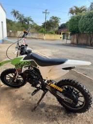 Título do anúncio: Mini moto 49cc trilha