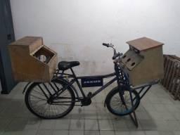 Bicicleta para anúncios