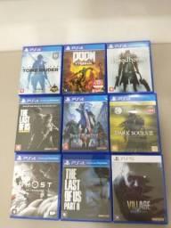 Título do anúncio: Jogos de PS4 e PS5