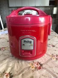 Panela de Arroz Elétrica Philco PH5 Visor Glass Vermelha 220v