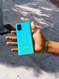 Título do anúncio: Galaxy A51 azul 128 gb