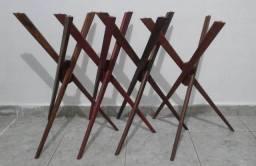 base de mesa lateral de apoio