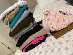 Lote de roupas inverno