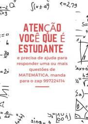 Seu exercício de matemática resolvido, valor entre R$ 5 e R$ 10 reais