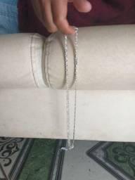 Cordão de prata 950grama