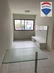 Título do anúncio: Apartamento com 1 dormitório à venda, 36 m² por R$ 275.000,00 - Aflitos - Recife/PE